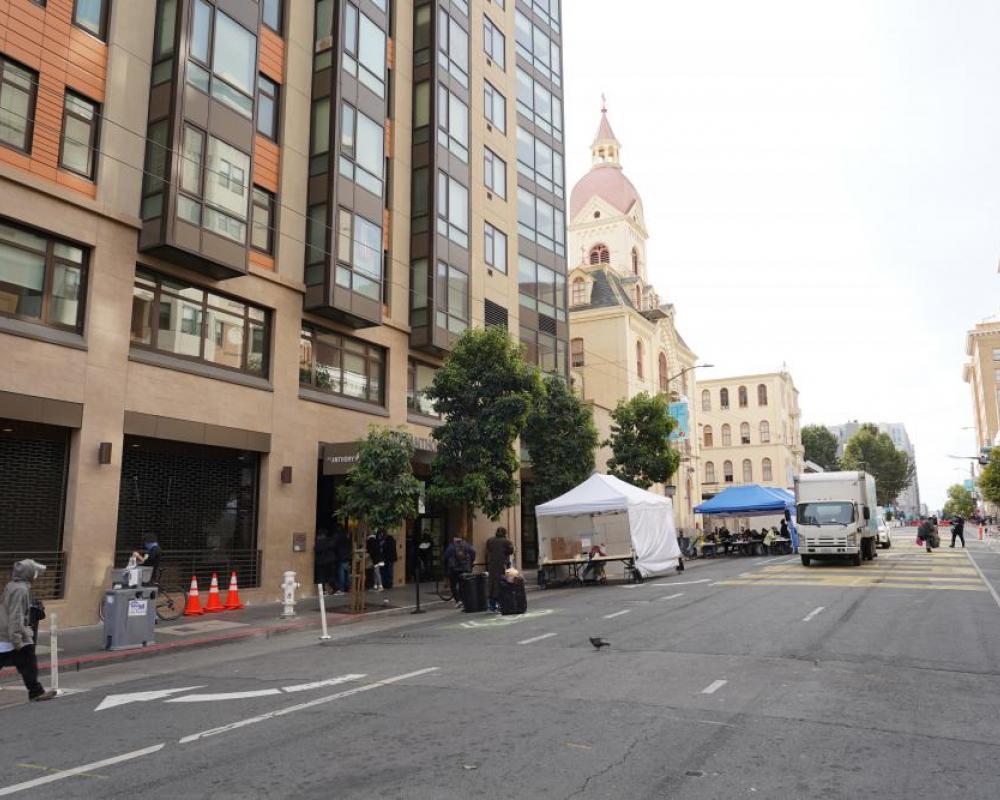 Golden Gate 100 Block Closure