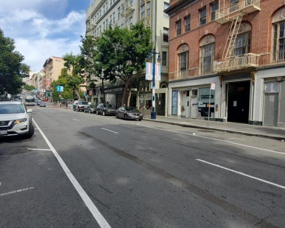Jones Street Road Diet Fall 2020