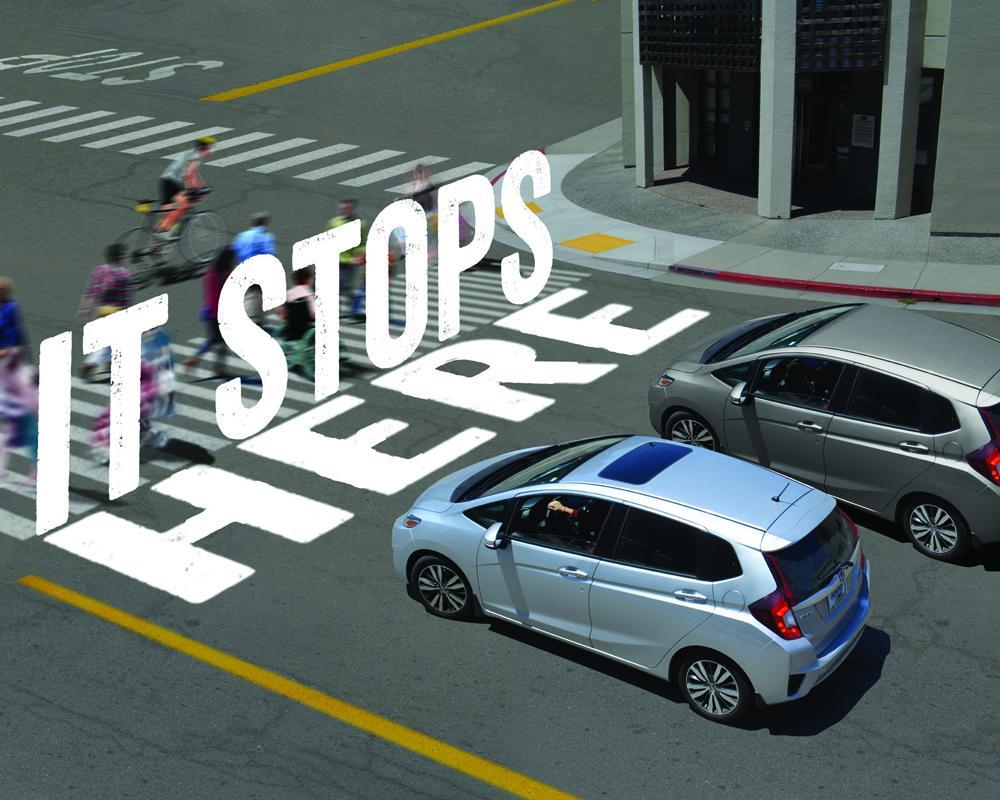 """Vision Zero """"It Stops Here"""""""