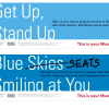 This is Your Muni cards on the new trains asking customers to give up their seats to those who might need them more.