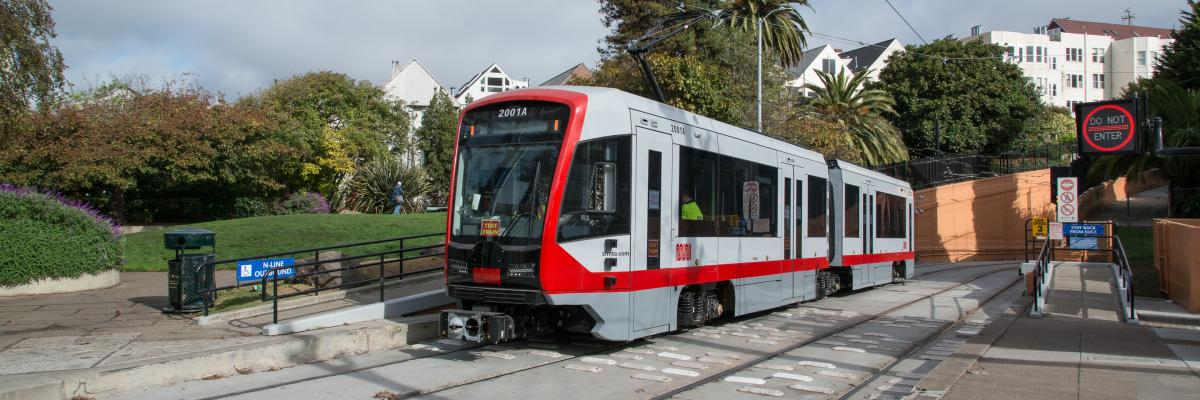 New LRV on J Church line