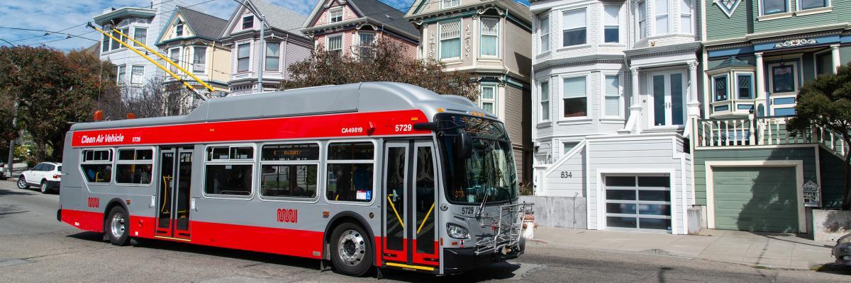 Картинки по запросу New Flyer Muni trolley bus