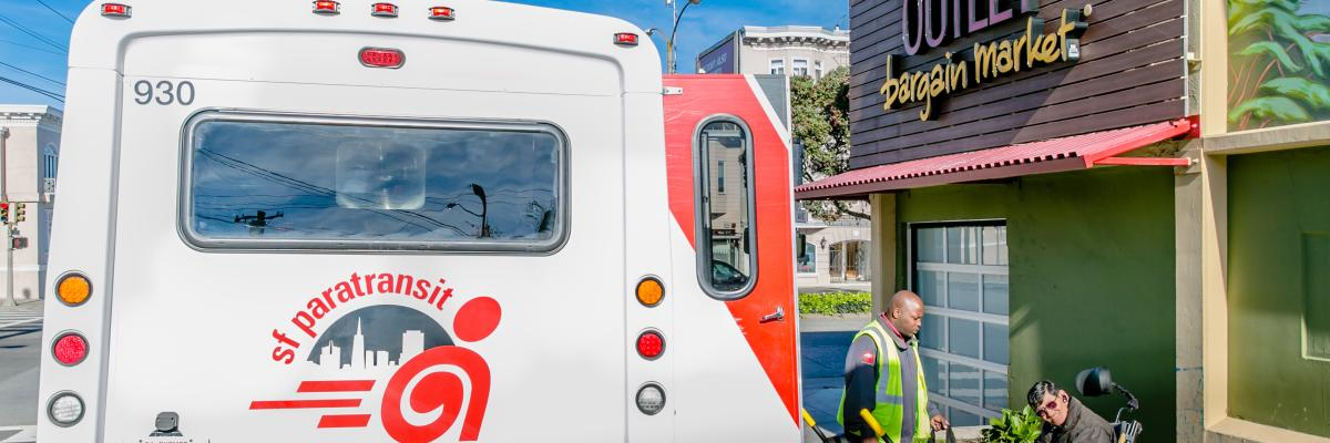 Shop-a-Round: SF Paratransit's Grocery Shopping Shuttle