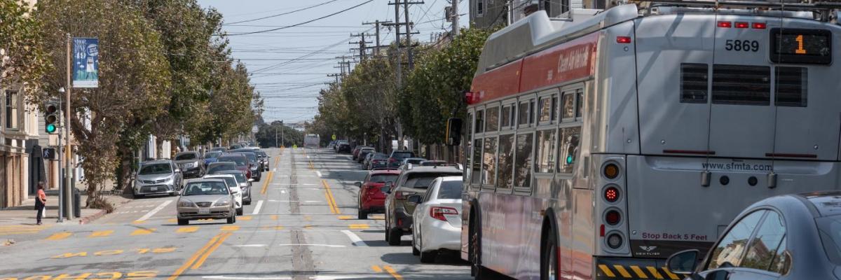 A photo of California Street