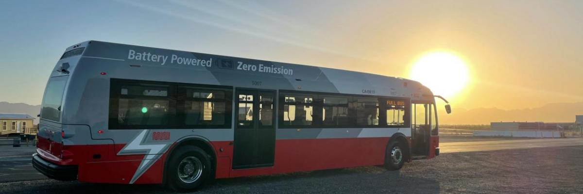 batter-electric bus from Proterra