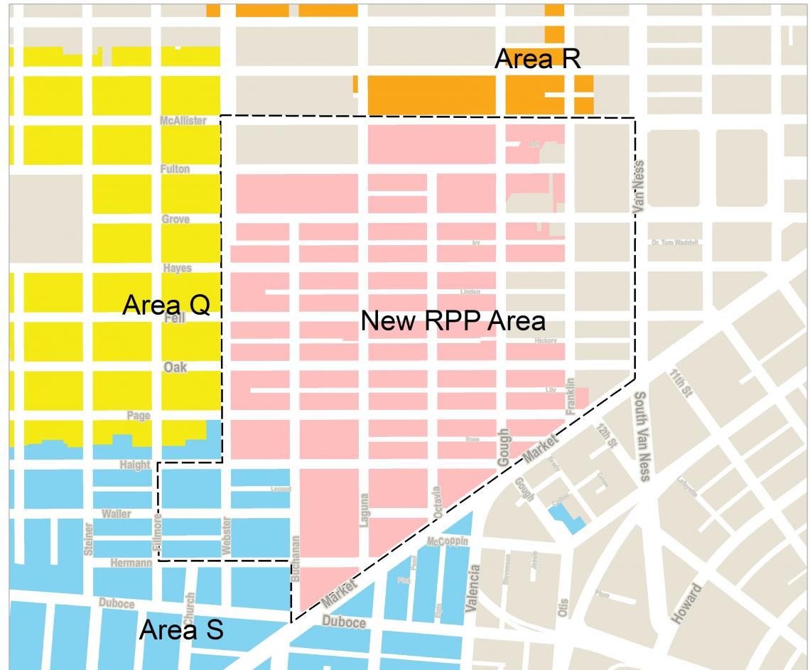Proposed new RPP area
