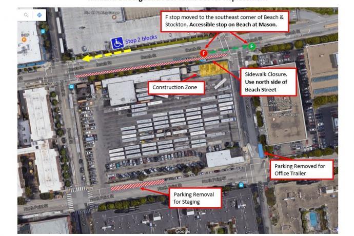 Map of Kirkland Tank Replacement