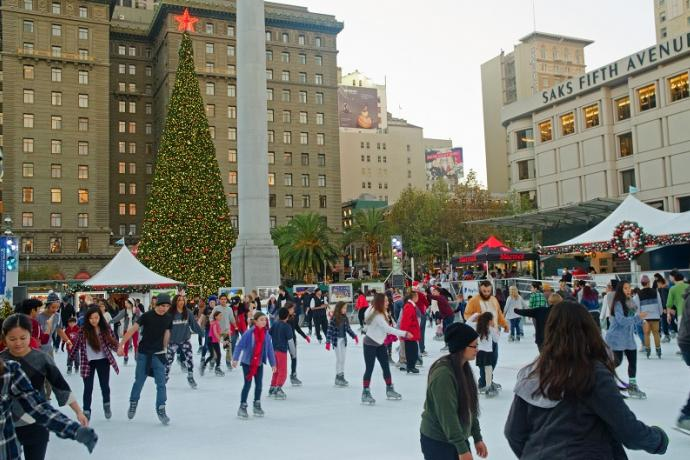 Skating Rink Union Square