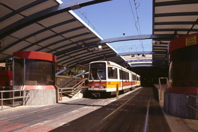 boeing LRV in west portal station