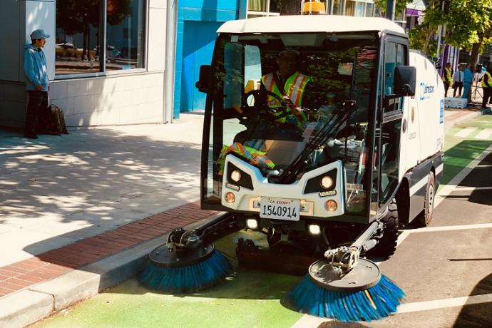 New Sweepers Hit the Streets