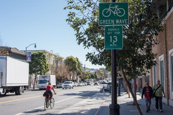 Valencia Bike Lane