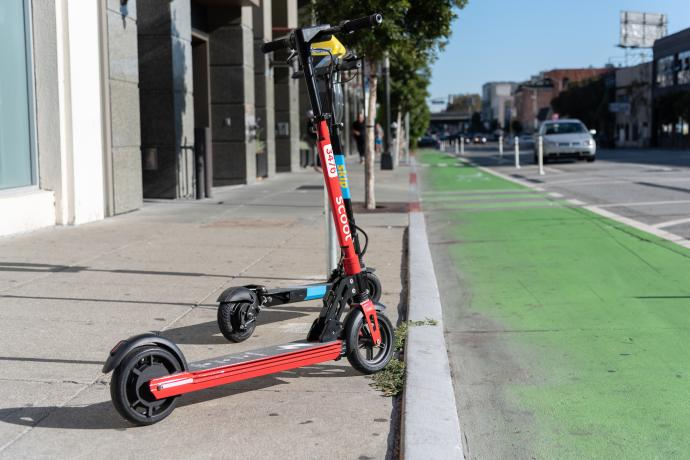 Powered Shared Scooters