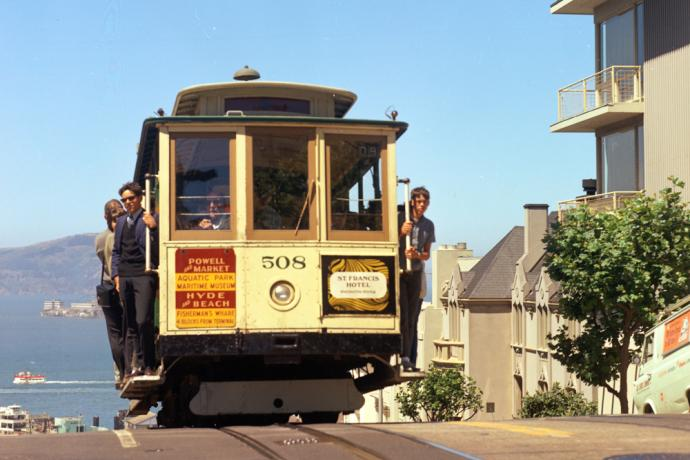 cable car 508 on hyde street