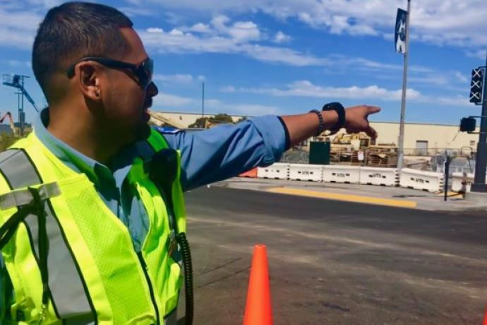 Parking Control Officer at Chase Center