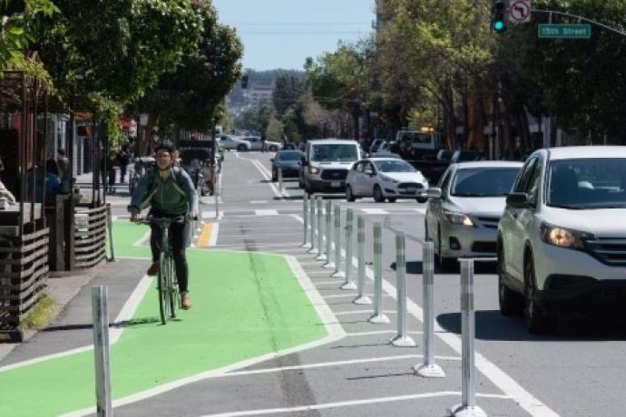 Valencia Street bike lane