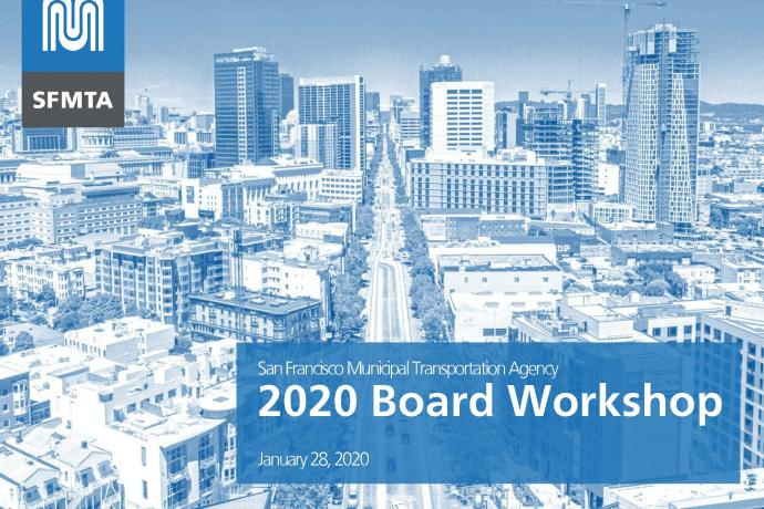 2020 SFMTA Board Workshop