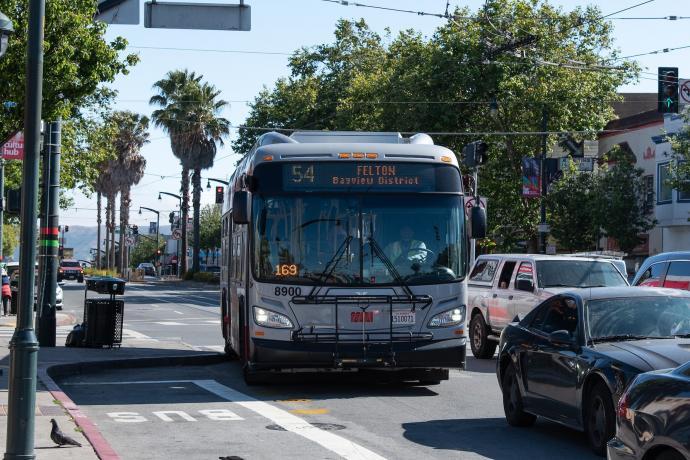 54 felton bus to bayview