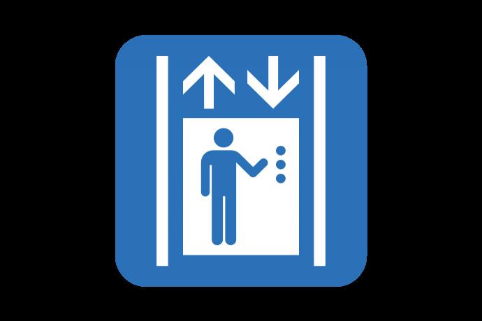 graphic depicting elevator