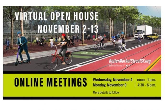 Better Market Street virtual open house information graphic
