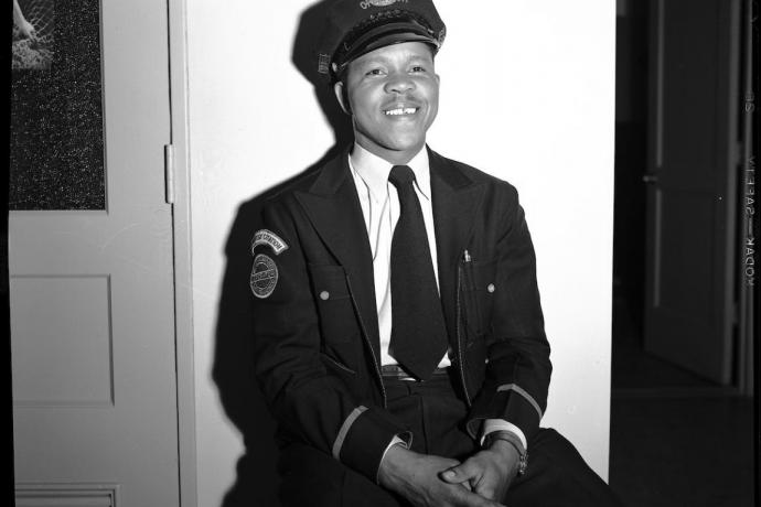 Gene Henderson in 1951