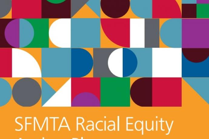 Image of SFMTA Racial Equity Action Plan report cover