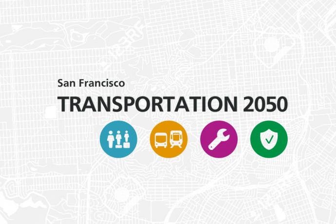 Transportation 2050 banner image