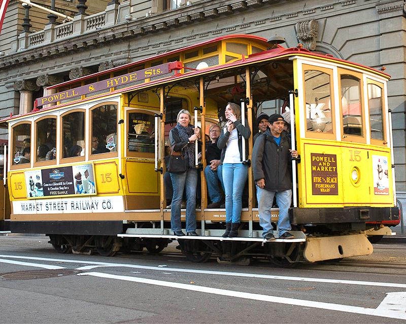 People on Cable Car- Link to Visitors information page