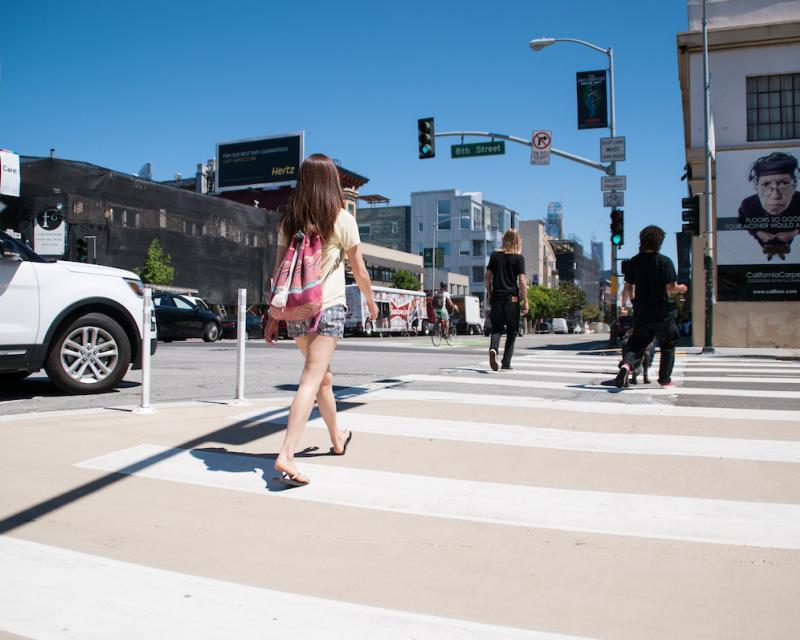 Continental crosswalk