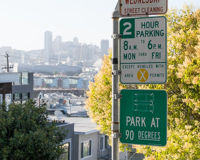 Residential Parking Permit Sign
