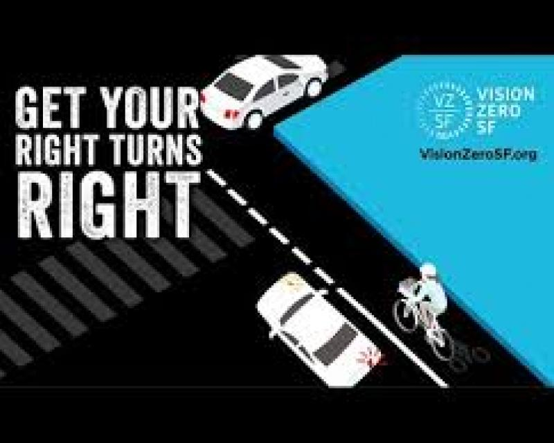 Ad part of vision zero campaign