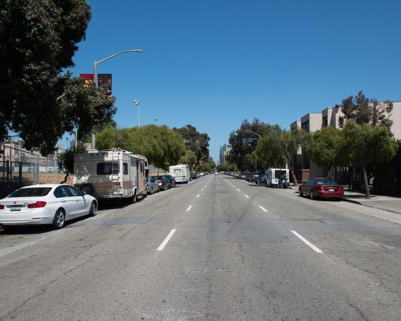 Golden Gate Avenue Facing East