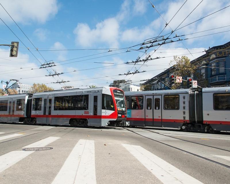 New LRV4 passing older Breda LRV