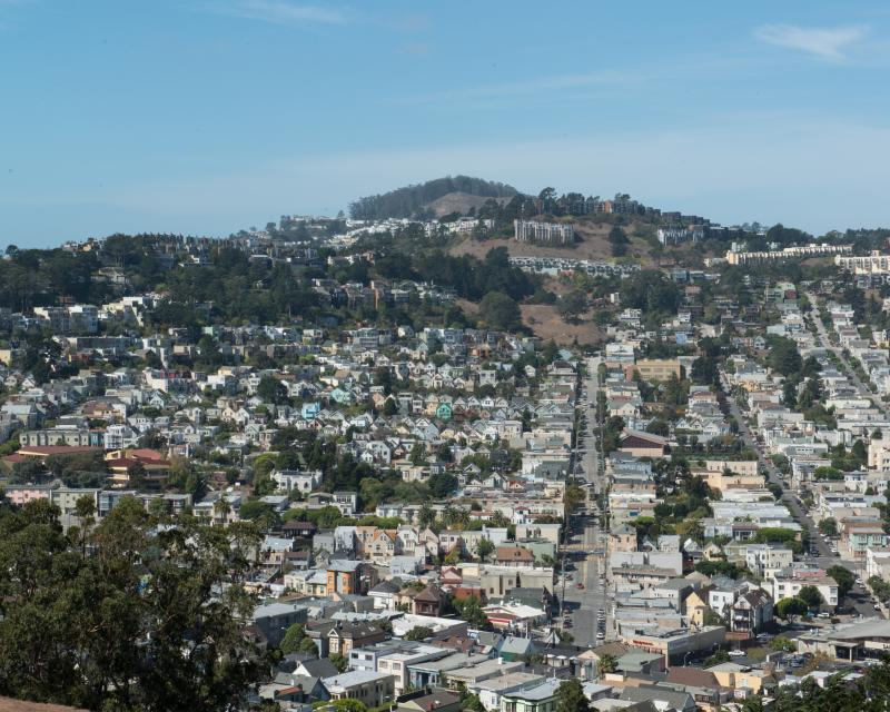 city view of Mission District