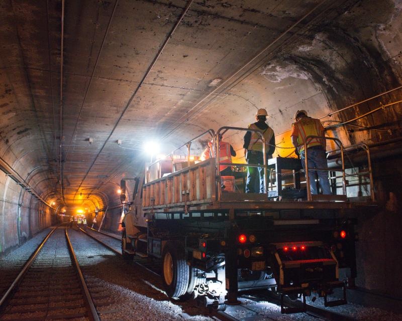 repairs to Twin Peaks Tunnel