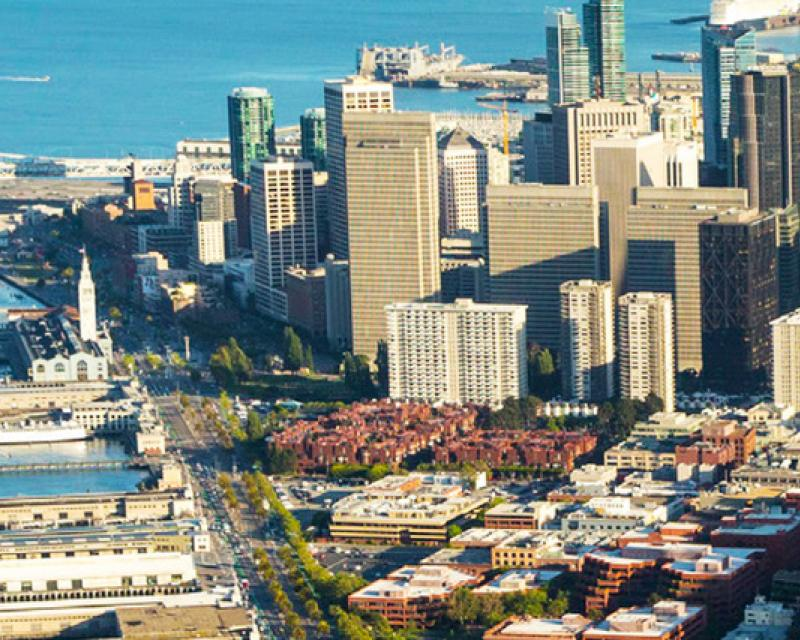 Image of San Francisco from above