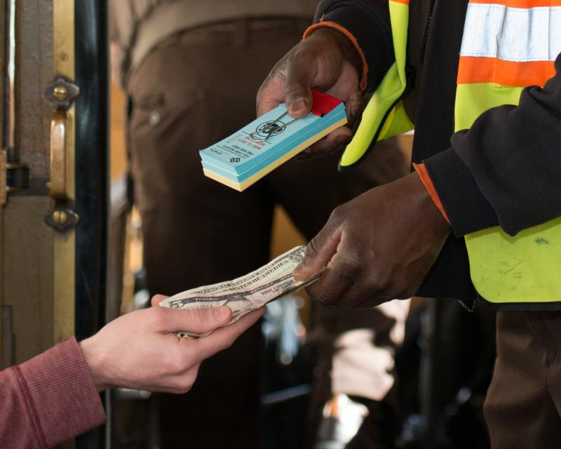 Paying the SF Access Fare