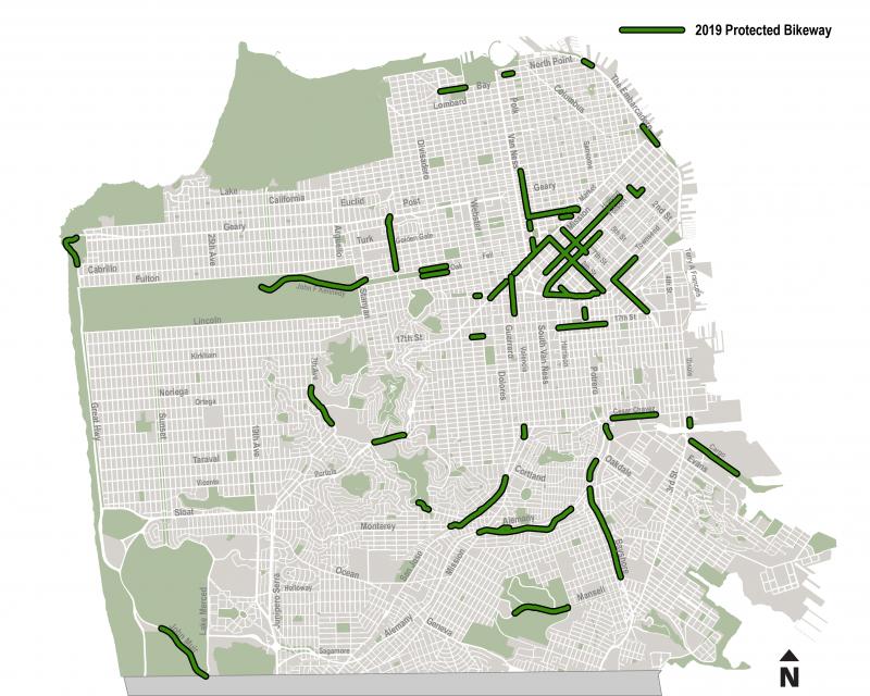 2019 protected bikeway