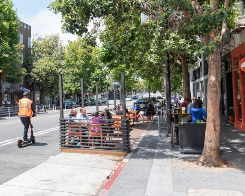 Shared Spaces Parklet