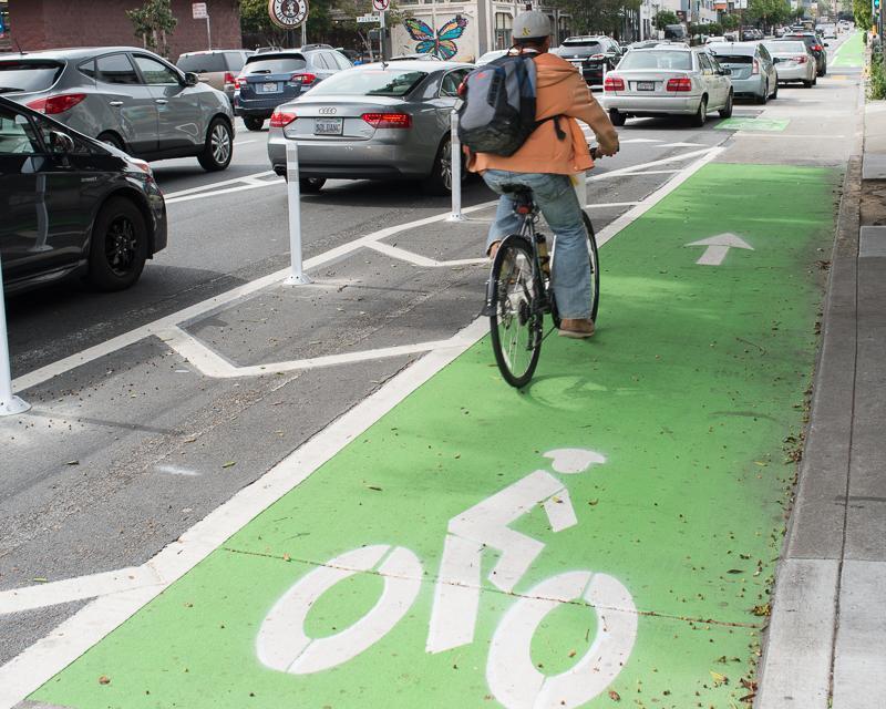 Bike Lanes Installed
