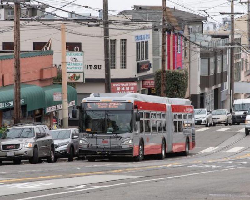 SFMTA L bus