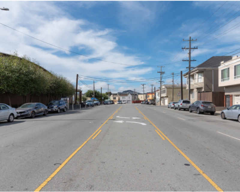 Picture of a Street in San Francisco