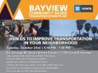 Bayview Community Based Transportation Plan
