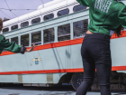 Image of dancers for annual San Francisco Trolley Dances