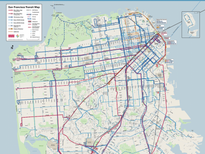 Image of Muni Route Map