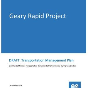 Draft Geary Rapid Project Transportation Management Plan