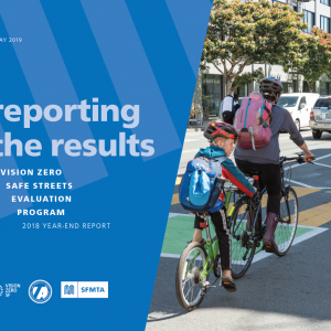 """Image of cover of """"Reporting the Results"""" Report"""