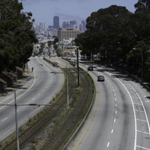 Improved conditions on Northbound San Jose Avenue