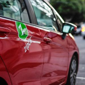 car share program seen with its logo
