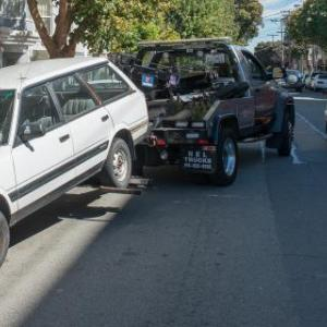 How to recover a towed vehicle?