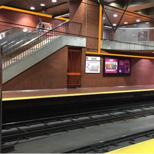 mock-up of Castro platform and mezzanine